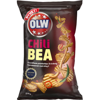 Chips Chili bea 275g Olw