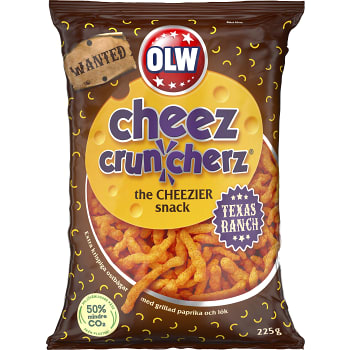 Ostbågar Cheez Cruncherz Texas Ranch