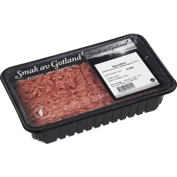 Blandfärs 50/50 Fetthalt < 18% 500g Smak av Gotland