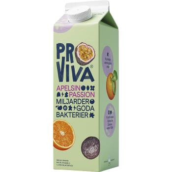 Apelsin & passionsfrukt 1l Proviva