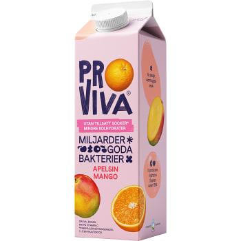 Fruktdryck apelsin & mango 1l Proviva
