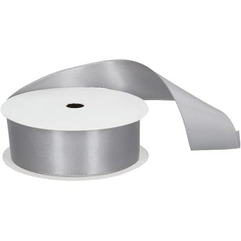 Band Satin Silver 3mx25mm
