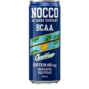 Energidryck BCAA Kolsyrad 33cl Nocco