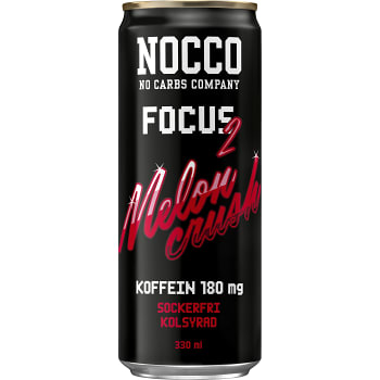 Energidryck Focus Melon crush Sockerfri 33cl Nocco