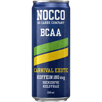 Energidryck BCAA Carnival 33cl Nocco