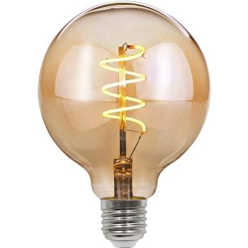 LED-lampa Filament Spiral Vit/brun 4W 170lm E27 Havsö
