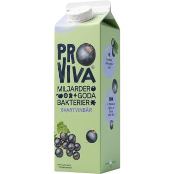 Fruktdryck Svart vinbär 1l Proviva