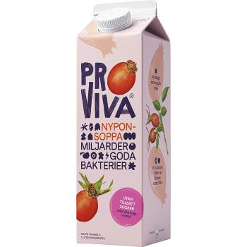 Fruktdryck Nypon Utan tillsatt socker 1l Proviva