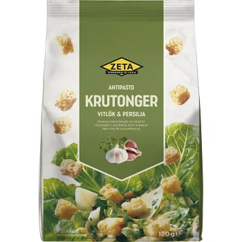Krutonger Vitlök & persilja 120g Zeta