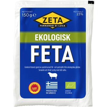 Feta Ekologisk 150g Zeta