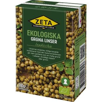Linser Ekologisk 380g Zeta