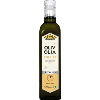 Olivolja Extra mild 500ml Zeta