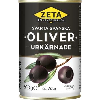 Oliver Svarta Urkärnade 300g Zeta