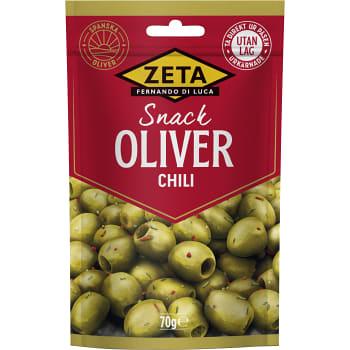 Oliver Snack Chili 70g Zeta