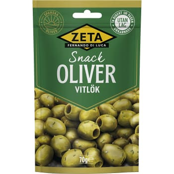Oliver Snack Vitlök 70g Zeta