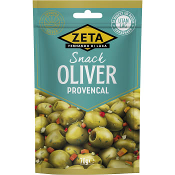 Oliver Snack Provence 70g Zeta