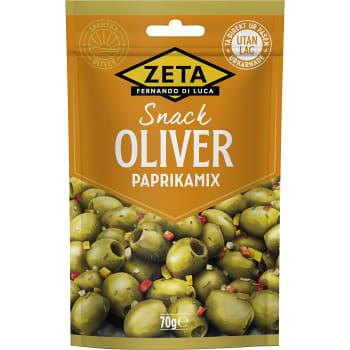 Oliver Snack Paprikamix 70g Zeta