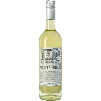 Chardonnay Vitt vin Alkoholfri 75cl Barrels & Drums