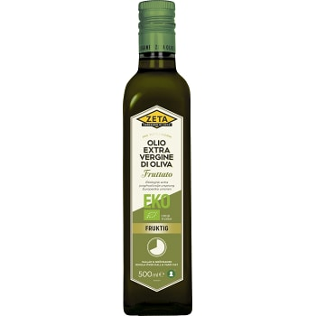 Extra vergine Olivolja Fruttato 500ml Zeta