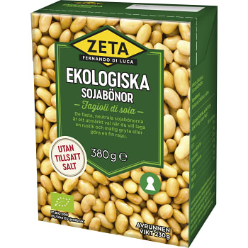 Sojabönor Ekologiska 230g Zeta