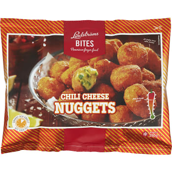 Chili cheese nuggets Fryst 250g Lindströms Bites