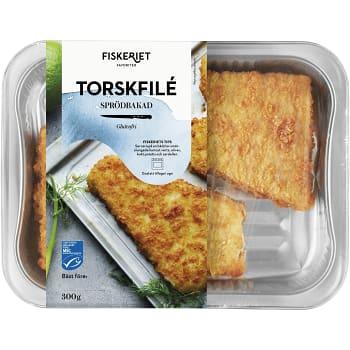 Torskfilé Sprödbakad 300g Fiskeriet
