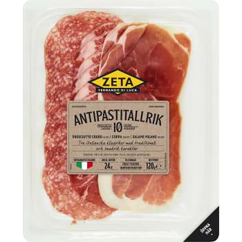 Antipastitallrik 120g Zeta