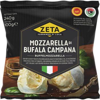 Mozzarella di Bufala campana 100g Zeta