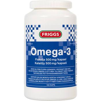 Omega-3 Kosttillskott 160-p Friggs