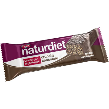 Low calorie bar Crunchy chocolate Viktkontroll 50g Naturdiet