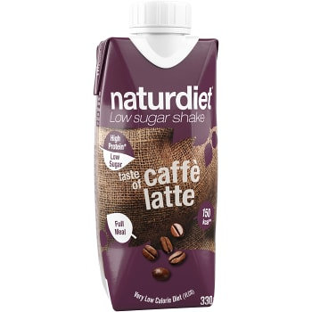Shake Caffe latte Viktkontroll 330ml Naturdiet