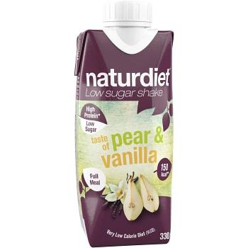 Shake päron & Vanilj 330ml Naturdiet