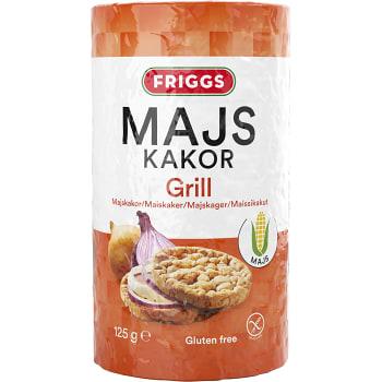 Majskakor Grill Glutenfri 125g Friggs