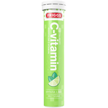 C-vitamin Mynta & lime Brus 20-p Friggs