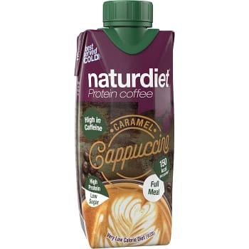 Proteinshake Cappucino 330ml Naturdiet