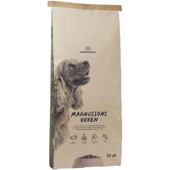 Hundmat Meat & biscuit Senior 14kg Magnusson