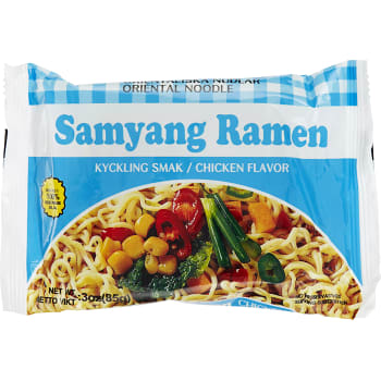 Nudlar Kycklingsmak 85g Samyang