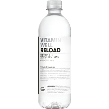 Reload Citron & lime 50cl Vitamin Well