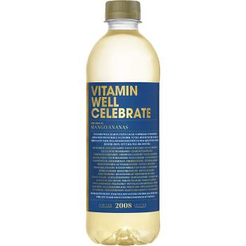 Celebrate Mango & ananas 50cl Vitamin Wel