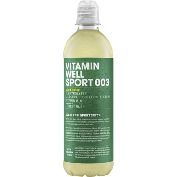 Sportdryck Forest Rush 50cl Vitamin Well