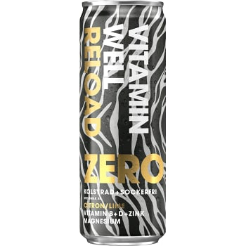 Reload Zero Citron & lime 35,5 cl Vitamin well