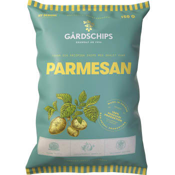 Potatischips Parmesan 150g Gårdschips