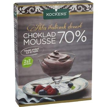 Chokladmousse 70% 115g Kockens