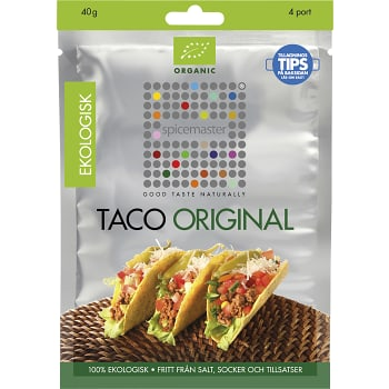 Taco Kryddmix Ekologisk 40g Spicemaster