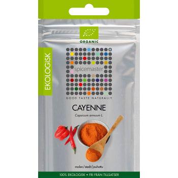 Krydda Cayennepeppar påse Ekologisk 21g Spicemaster