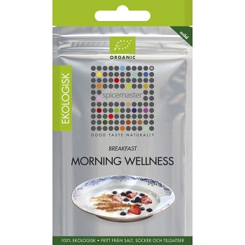 Krydda Morning Wellness påse Ekologisk 21g Spicemaster