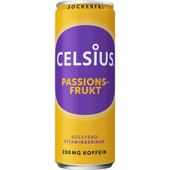 Energidryck Passionsfrukt 35,5cl Celsius