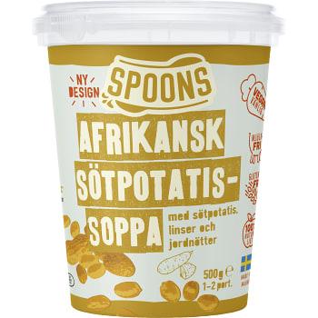 Afrikansk sötpotatissoppa Glutenfri Laktosfri 500g Spoons