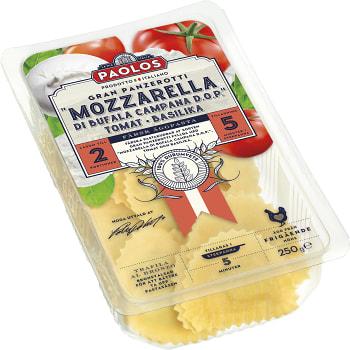 Gran Panzerotti Mozzarella & basilika 250g Paolos