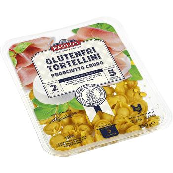 Tortellini Prusciutto crudo Glutenfri 250g Paolos